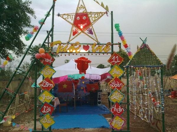 cổng trại hình ngôi sao