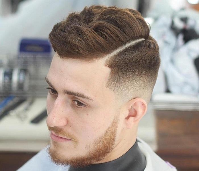 kiểu tóc side part rất phù hợp cho nam giới mặt dài