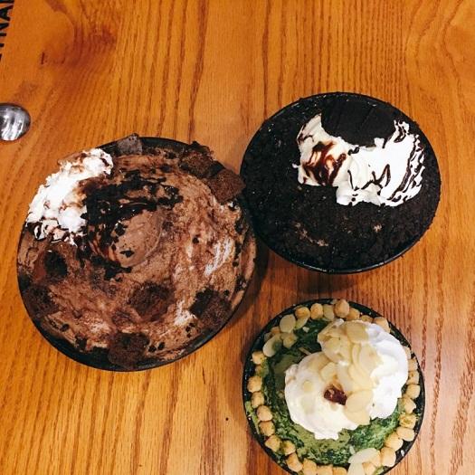 Patbingsu Oreo Patbingsu trà xanh tại okbingsul mipec tower