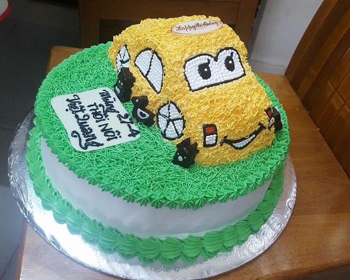 bánh sinh nhật Adadi Cake xe hơi