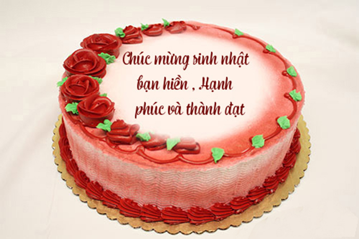 Hình ảnh bánh sinh nhật bạn bè