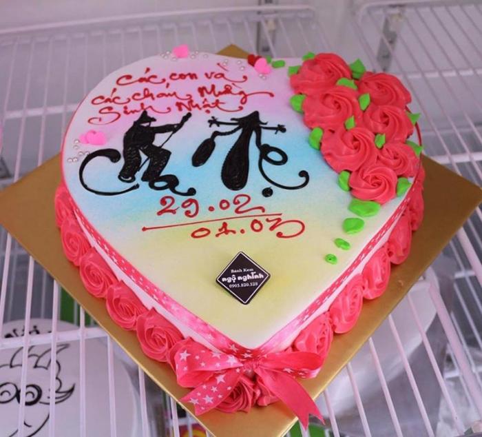 Hình ảnh bánh sinh nhật cho cha mẹ
