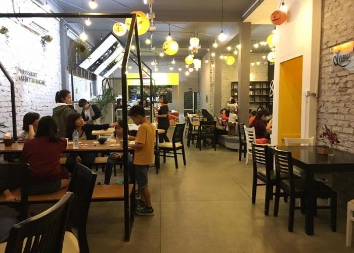 không gian quán Korean Dessert House