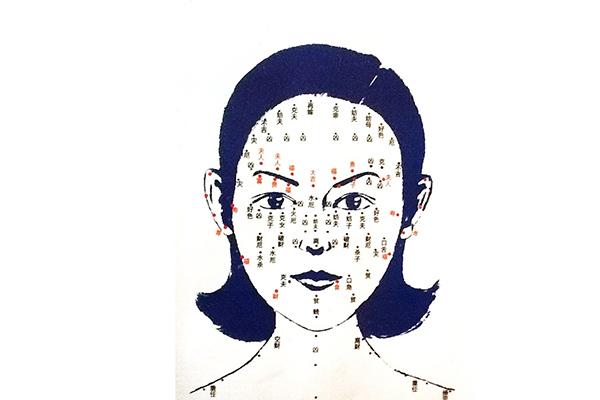 nốt ruồi trên mặt phụ nữ