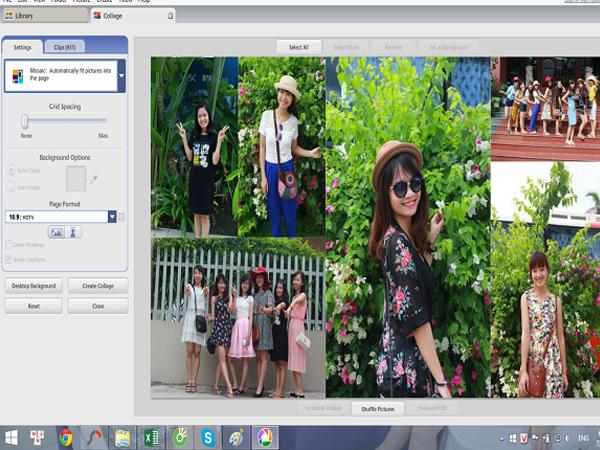 Phần mềm ghép ảnh Foto Fusion