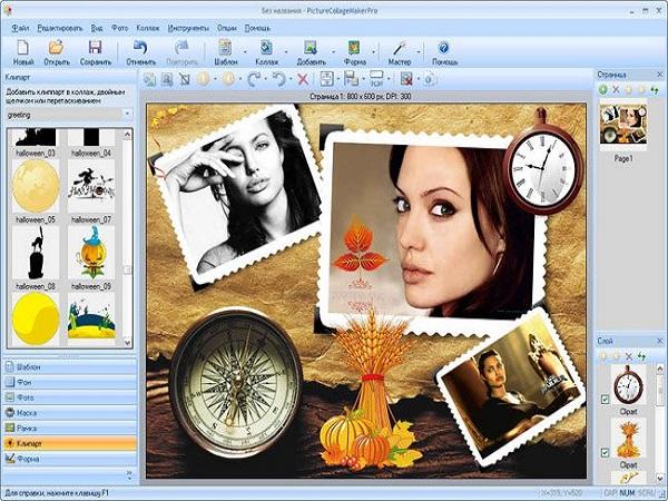 phần mềm ghép ảnh SnowFox Photo Collage Maker