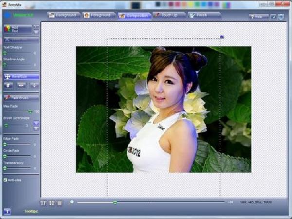 Phần mềm ghép ảnh fotmix