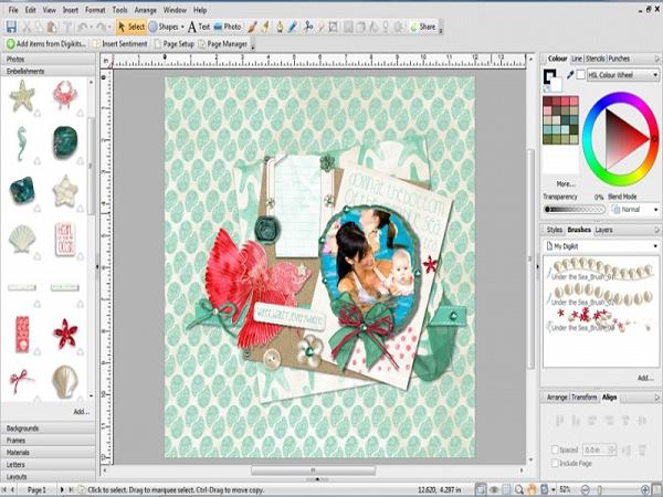 Phần mềm ghép ảnh Craft Artist