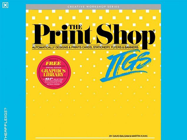 phần mềm ghép ảnh The Print Shop