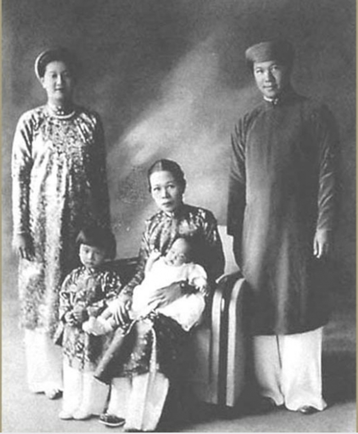 gia đình vua bảo đại