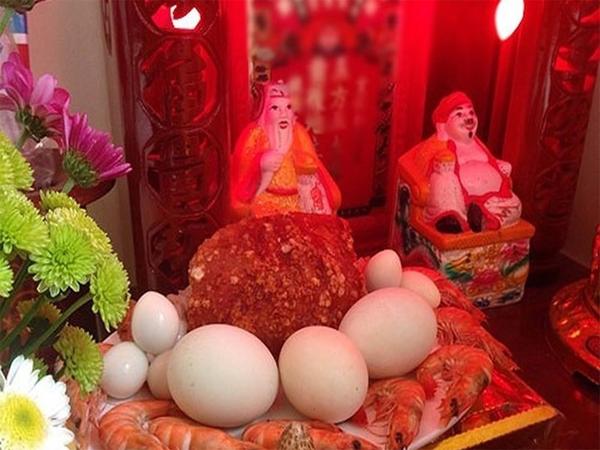 Lễ vật chuẩn bị cho lễ cúng Thần Tài - Thổ Địa ngày đầu năm