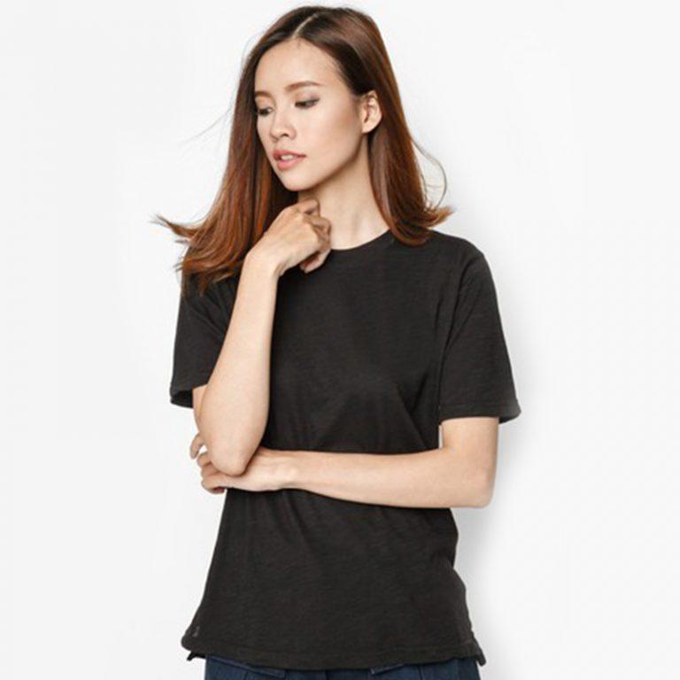 áo thun đen nữ 01