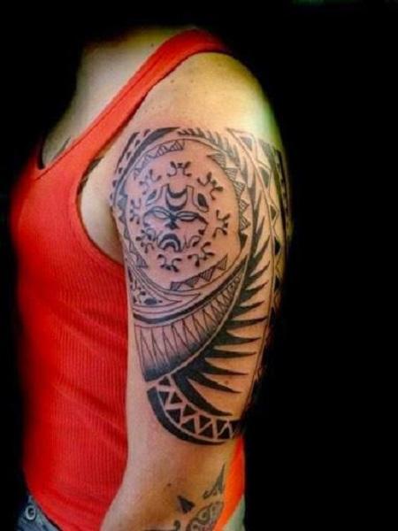 hình xăm Tribal-Tattoo