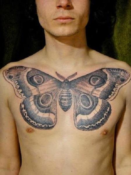 hình xăm bươm bướm