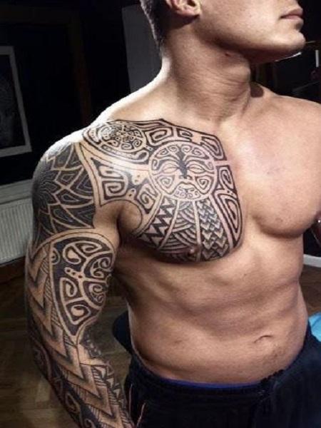 hình xăm của người Maori
