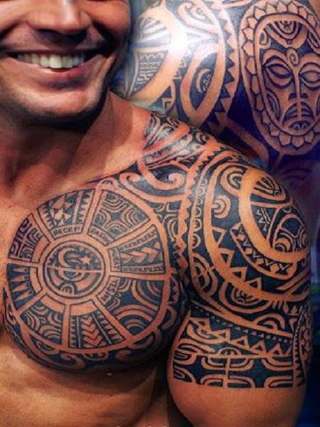hình xăm người Polynesia