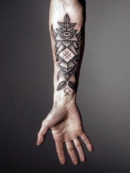 hình xăm phổ biến ở cổ tay