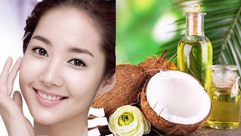 Dầu dừa còn là nguyên liệu làm trắng da rất hiệu quả