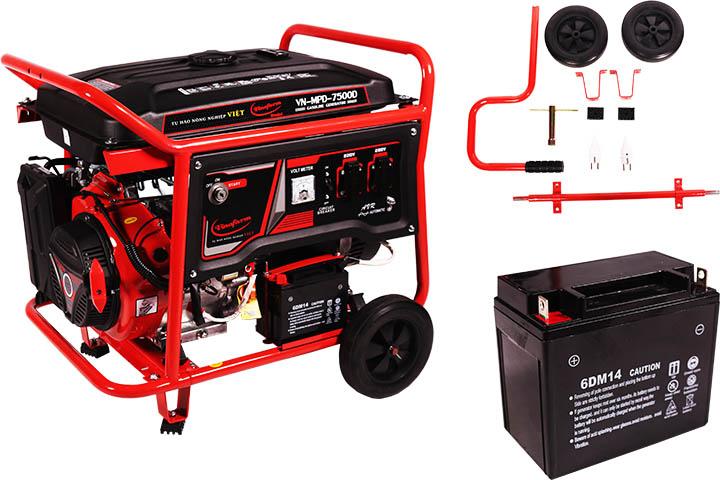 Máy phát điện vnm pd7500d