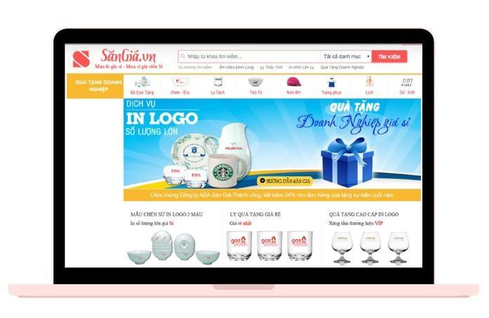 Website Công ty quà tặng SanGia VN